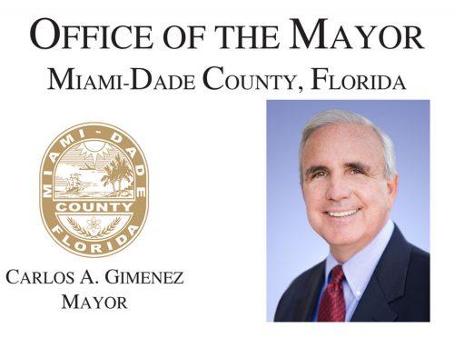 Mayor Carlos Gimenez Endorses Equal Pay Miami-dade Campaign